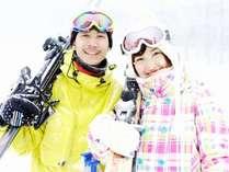 【キューピットバレイスキー場☆リフト1日券付☆】日本海を望むスキー場で冬を満喫♪<2食付>