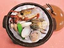 【早割45★5%割引&ドリンク付】<秋の味覚・新米>釜炊きごはんで堪能する『イセエビの彩り会席』