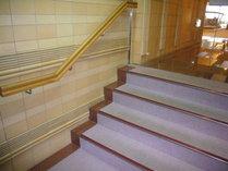 【その他】大浴場・露天風呂入り口手前の階段
