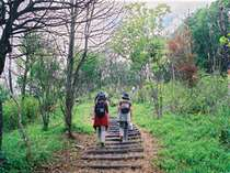 【散歩】湯郷温泉街からラグビーサッカー場へのラガーコースはハイキングにぴったり。