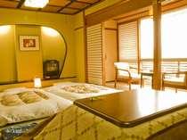 冬場のみコタツ付きのお部屋を新しくご用意しました。是非ご利用下さい。