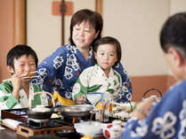 【部屋食】家族みんなでゆったりお部屋食プランもご用意しております。