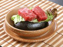 【追加料理】当館名物の牛肉石焼きはプランに付いていない場合も追加していただけます。