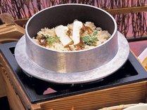 【追加料理】松茸釜飯は一人前1,320円(9/1~10/30限定)※メッセージにてご注文ください。