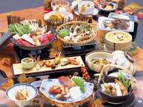 【松茸会席】秋ならではのお料理をゆっくりとお楽しみください