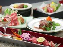【なぎビーフ会席】岡山のブランド牛の美味しさをお届けいたします。