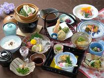 【季節限定】嵐山で四季を味わう~栄養満点!春の京野菜ヘルシー会席~