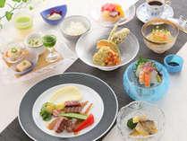鱧(ハモ)・京野菜・厳選国産牛ステーキを味わう夏の創作会席イメージ