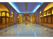 世界の温泉スパワールド当館からは歩いて5分でアクセス可能◎イスラム風呂