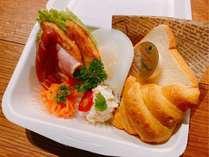 朝食BOX付(イメージ)