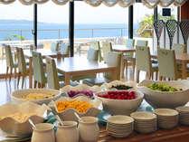 海を眺めながらのご朝食をお楽しみください♪