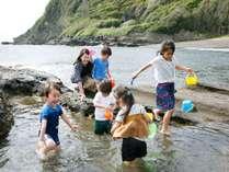 5月から9月までは、ホテル周辺「大房岬」の海岸で磯遊びがお楽しみ頂けます。