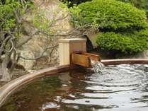 ゆっくりと浸かるなら和風露天風呂がオススメです。