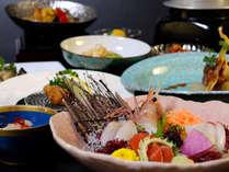 ご夕食はお部屋食でゆっくろとお寛ぎ下さいませ。【旬の味覚をゆっくり堪能プランイメージ】