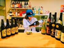 播磨地方の地酒を始め、様々ウイスキーも取り揃えております。