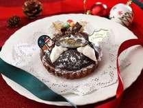 【クリスマス】 森の栗クリームタルト付 バイキング2食付きプラン