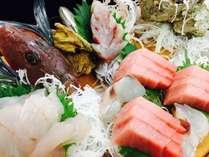 ◆地魚の舟盛り◆その日の市場から、最高の旬を盛り込みます!
