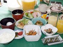 【朝食例/和洋定食】朝食は和洋定食。※メニューは変更する場合有り