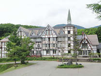 ■【会津高原ホテル・外観】「いつもより少し贅沢な時間」をゆっくりとお過ごし頂けます。