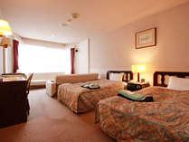■【客室一例】オーソドックスなタイプのツインルーム
