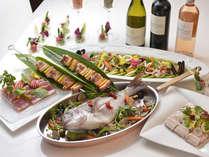 レストランカフェ「フォンテーヌ」 旬の食材を使用した季節のビュッフェ(イメージ)