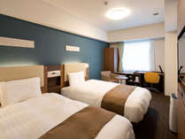 ◆ツインスタンダード1◆ベッド幅123センチ×2台◆