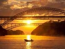 【宿周辺】西海橋からの美しい夕景