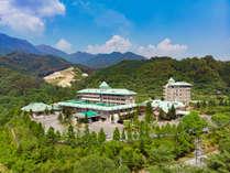 自然豊かなリゾートホテル