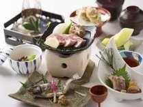 開館25周年記念!!4月日にち限定!岡山県産ピーチポークの風花会席