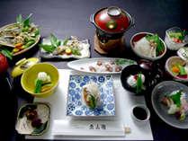 魚山園のこだわりの味と京懐石の美味しさを少量で堪能できる「彩香」(写真はイメージ)