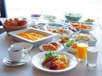 朝食バイキング(イメージ) ※都合によりバイキングを実施しない場合、セットメニューの提供となります。