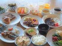 朝食バイキングでは虎杖浜のたらこがお召し上がり頂けます。
