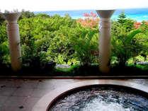 沖縄かりゆしビーチリゾート・オーシャンスパ 大展望風呂「森の湯」※宿泊施設とは異なります。