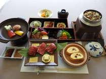 秋から冬の宿泊プラン!夕食は滋賀県の名物づくし「近江牛陶板焼湖国膳」で