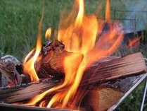 焚火は、本当にに幻想的な空間を演出してくれます♪