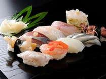 【1泊2食付】☆四季折々の富山湾の粋とキトキト!☆「厳選地魚寿司握り」と「朝食バイキング」プラン