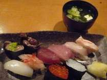 【1泊2食付プラン】 魚津の「旨い寿司」と「朝食バイキング」付