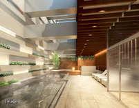 5種の岩盤浴、炭酸泉、露天風呂、サウナ、ロウリュがそろった大規模天然温泉施設