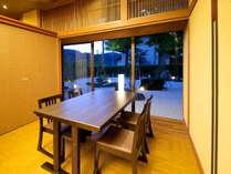 □【かか楽】半個室お食事処朝夕共に個室お食事処でご用意しております~