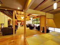 別邸-神楽-■ロビー■金沢の奥座敷湯涌温泉へようこそ、ようこそ