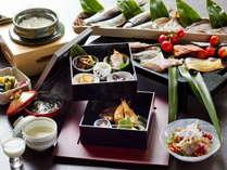◇ご朝食◇人気の海鮮鍋や手作り豆腐♪旬魚の干物をお愉しみ下さい