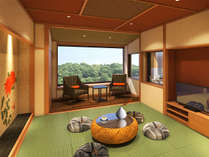 新館◆彩心-IROHA-露天付◆ゆっくりと湯涌の美肌の湯をお楽しみ下さい