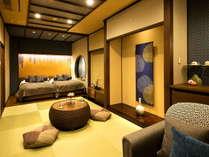 新館-彩心-◆和洋室◆和と洋の艶やかさに包まれた心地よい大人の空間