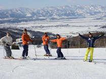 *【スキー&ボードレッスン】初心者から上級者まで安全に楽しく滑りましょう♪