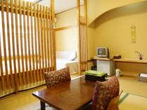 客室は無線LANが利用できる和洋室タイプのお部屋です。