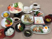 *忘新年会お食事/料理長自慢の豆乳鍋をはじめ、彩とりどりの品々をお出しいたします。