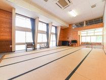 *和室20畳/フロント真横の和室。研修、合宿のご利用が多いです。