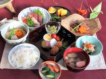 *[2017]年末年始夕食一例/お日にち限定の特別メニュー。地産のものや旬食材中心