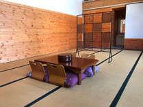 *大部屋和室20畳(かき・くるみ)/フロント近くの大きな和室です。合宿、グループでご利用向けです。