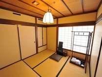 客室は全て二間続きの和室。次の間4.5畳(イメージ)
